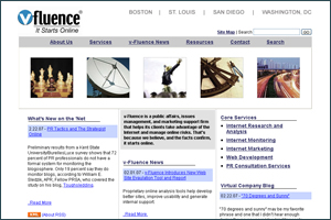 V-Fluence Public Relations (corporate site)